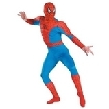 Mens Muscle Chest Spiderman Fancy Dress Costume | Fancy Dress Ideas | Scoop.it