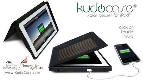 Solar iPad Case .: Kudo Official Site :. Brilliantly Green Products | Little things about tech | Scoop.it