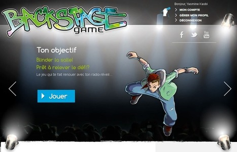 Backstage-game, un Serious Game sur le management | Innovating serious games | Scoop.it