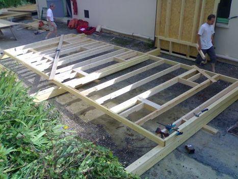 Chantier participatif en construction ossature bois | Facebook | conférence expos développement durable énergie | Scoop.it