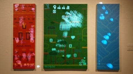 Playable acrylic paintings ! From Brent Watanabe | FADWEBSITE | Musique, Arts visuels | Scoop.it