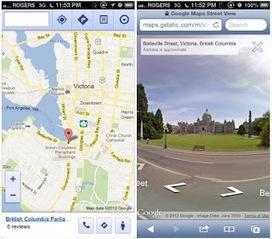 Aberto até de Madrugada: Street View chega ao Google Maps Mobile | GIS Móvel | Scoop.it