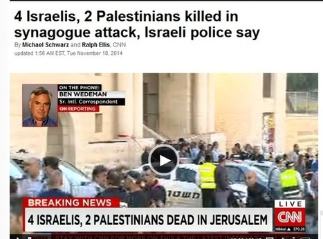 CAMERA Snapshots: In CNN Headline on Jerusalem Terror, Integrity is Another Casualty | 5 Israel Discussion Points of the Week #11 | Scoop.it