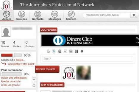 Avec «JOL Social», les journalistes ont leur propre réseau social | Solutions locales | Scoop.it