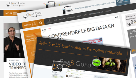 Infos Cloud, Apps, Big Data, IoT, Social | SaaS Guru Live | Scoop.it