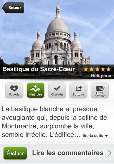 Guide Paris (avec carte offline) - mTrip (Tourisme) : application iPhone et iPad - AppsManiak | SEO and Webmaketing (and Music!) | Scoop.it