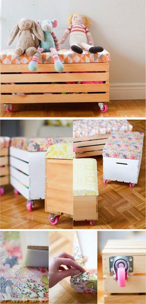 Cómo organizar los juguetes | Inchalam | Scoop.it
