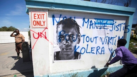 UN link to Haiti cholera epidemic adds to mistrust, Haitian-Montrealer says | The Total Sanitation Campaign in Haiti | Scoop.it