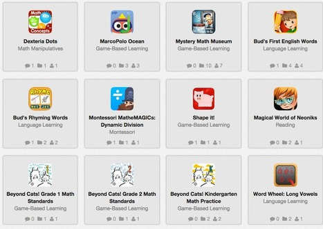 A Great Collection of Teacher-tested Apps to Engage Students | Educational Leadership and Extras | Scoop.it