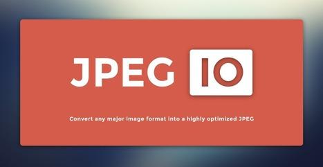 Jpeg.io : optimisez vos images JPG | Les belles ressources ! print - web - digital | Scoop.it
