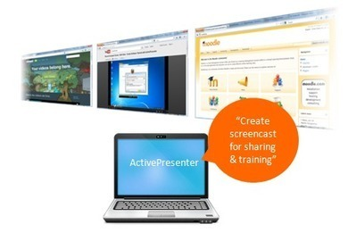 ActivePresenter - Record screen, create interactive screencasts, software demo, software simulations, author rapid elearning materials with quizzes, create SCORM-compliant courses - Advanced Screen... | eLearning tools | Scoop.it