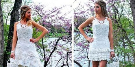 You'll Never Guess What This Wedding Dress Is Made Out Of | Xposing e-commerce, fashion & unique items. | Scoop.it