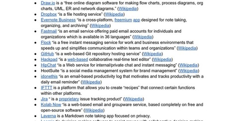 Future of work / toolsets (linkorama) | Self-organizing and Systems Mapping | Scoop.it