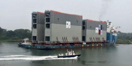 Panama: arrivée des gigantesques portes du nouveau canal - Francetv info | Nouvelles d'Amérique centrale | Scoop.it