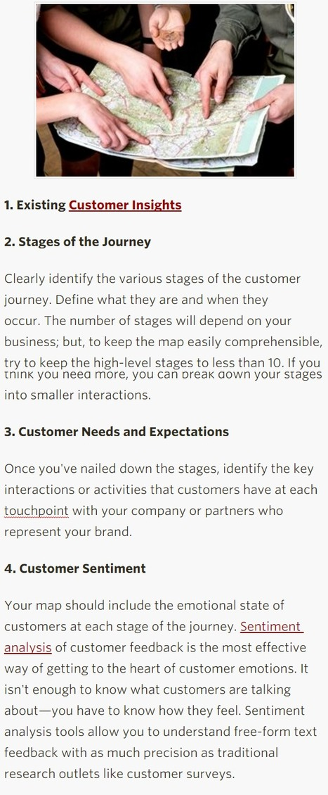 Four Critical Components of Your Customer Journey Map - Profs | Portugueses Curious | Scoop.it