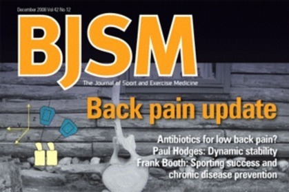 Successful antibiotic treatment in a subset of people with chronic low back pain | physiotherapy | Scoop.it