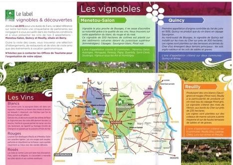 Cher : un nouveau label pour une meilleure attraction touristique viticole en Berry | Oenotourisme | Scoop.it