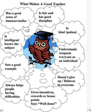 The 9 Attributes of A Good Teacher ~ Educational Technology and Mobile Learning | Edtech PK-12 | Scoop.it