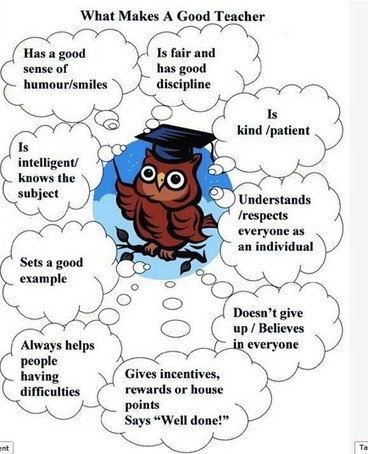 The 9 Attributes of A Good Teacher | lärresurser | Scoop.it