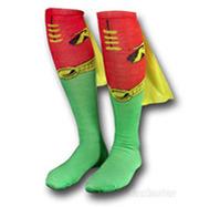 Superhero Socks With Capes: Get Your Geek On   GeekGasm   Scoop.it