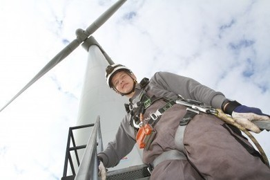 Wind energy ambassador Thomas shortlisted for national apprenticeship award | National Training Federation Wales | pro wind supporters from mid Wales | Scoop.it
