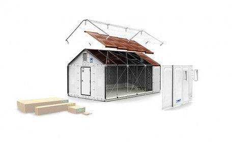 IKEA Unveils Solar-Powered Flat Pack Shelters for Easily Deployable Emergency Housing | Agriculture urbaine, architecture et urbanisme durable | Scoop.it