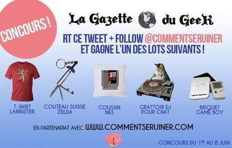 La Gazette du Geek on Twitter | Actualité | Scoop.it