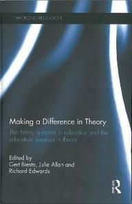 Making a Difference in Theory - University of Stirling   Research in Higher Education   Scoop.it