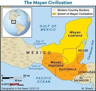 Didjuno? Climate Change May Have Destroyed the Maya | Geography in the News | Scoop.it