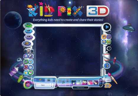 Software MacKiev - Kid Pix 3D | Technology education in the F-2 Australian classroom | Scoop.it