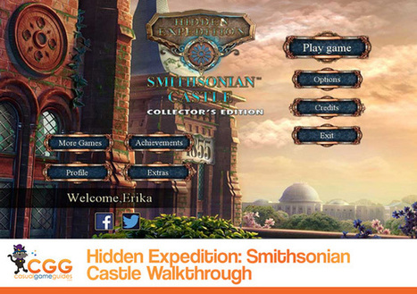 Hidden Expedition: Smithsonian Castle Walkthrough: From CasualGameGuides.com | Casual Game Walkthroughs | Scoop.it