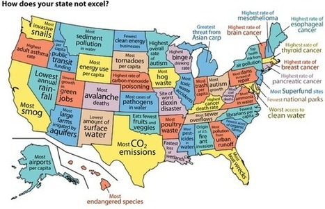 Infographic: United States of the Environment | Sustainability | Scoop.it