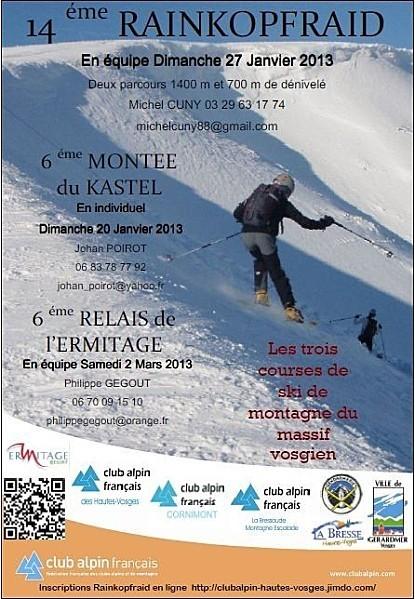 2012-82 Compétitions 'ski de montagne / alpinisme' dans les Vosges | ski de randonnée-alpinisme-escalade | Scoop.it