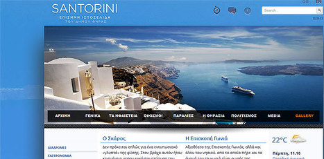 This is the new travel portal of the Municipality of Thera (Santorini) | www.santorini.gr. | travelling 2 Greece | Scoop.it