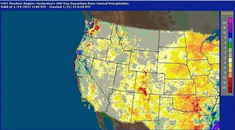 Low Snowfall Raises Concerns About Drought Recovery | Climate Central | Climate change challenges | Scoop.it