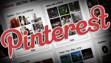 Promouvoir Votre Entreprise Avec Pinterest - Le Blog Officiel de Wix | Pinterest Web | Scoop.it