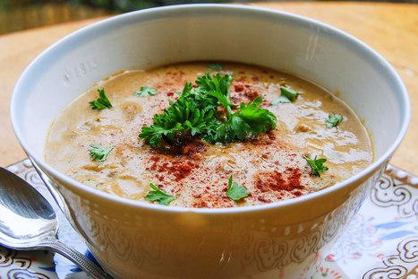 Vegan Cream of Mushroom Soup | My Vegan recipes | Scoop.it