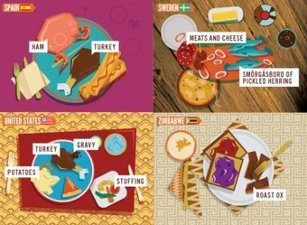 24 Holiday Meals From Around The World - Edudemic   Cuppa   Scoop.it
