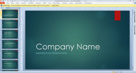Business Consulting Template for PowerPoint 2013 | Spirituality in Management | Scoop.it