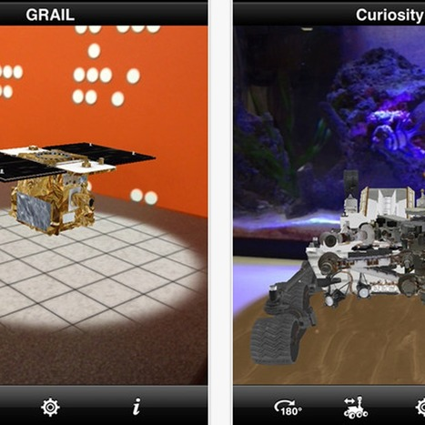 !!!! Nasa's augmented reality app lets you control Curiosity Mars rover (Wired UK) | Tracking Transmedia | Scoop.it
