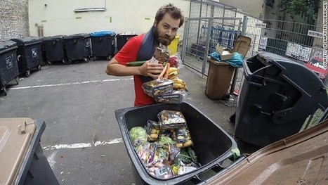 Euro trash tour: Dumpster diver's war on waste | Travel Bites &... News | Scoop.it