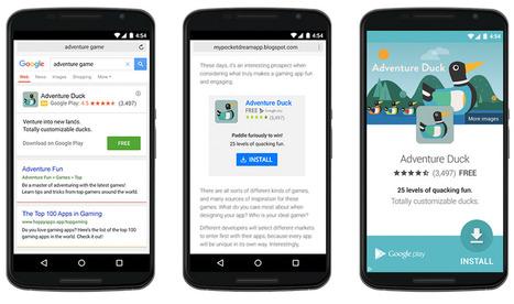 Google Adwords déploie les campagnes universelle de promotion d'applications - Arobasenet.com   SMO   Scoop.it