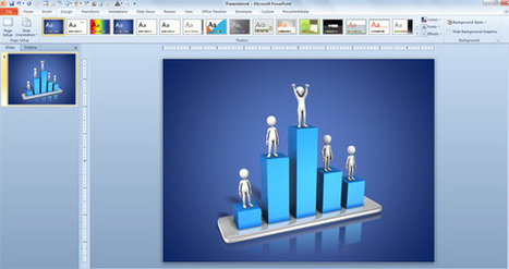 Awesome 3D & Animated Charts for Business Presentations | PowerPoint Presentation | GeoFodder | Scoop.it