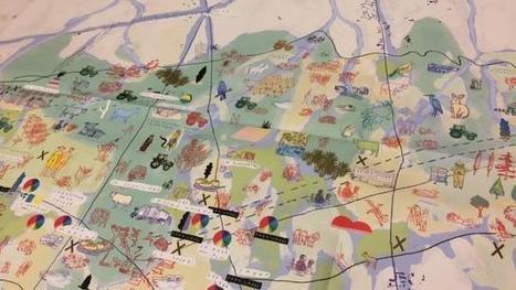 NDDL. Ils ont dessiné et publié une carte illustrée de la Zad. Info - Nantes.maville.com | Ambiances, Architectures, Urbanités | Scoop.it