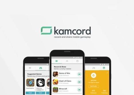 Kamcord: la app para grabar audio y vídeo de juegos llega a Android | Educacion, ecologia y TIC | Scoop.it