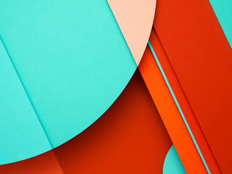 10 Awesome Wallpapers Inspired By Google's Material Design | Inspired By Design | Scoop.it