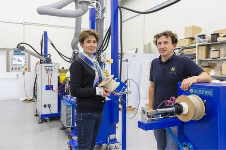 Pourquoi les filaments biosourcés intéressent l'impression 3D | Institut de Recherche Dupuy de Lôme - CNRS FRE 3744 | Scoop.it