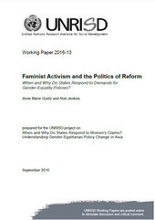 Feminist Activism and the Politics of Reform: When and Why Do States Respond to Demands for Gender-Equality Policies? | Publications | UNRISD | Women and Gender Studies | Scoop.it