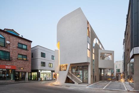 Moon Hoon curves concrete k-pop building in Korea - designboom | architecture & design magazine | The Architecture of the City | Scoop.it