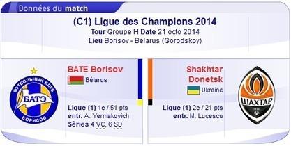 Regarder BATE Borisov vs Shakhtar Donetsk en Direct streaming sur bein sport Le 21-10-2014-bein sport | bein sports arabia | Scoop.it